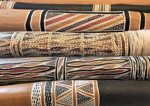 Traditional instruments for didgeridoo players from Hollow Log Didgeridoos Australia