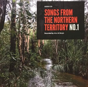 Songs from the Northern Territory – box set of 5 CDs