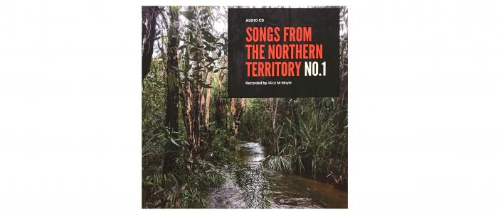 Songs from the Northern Territory CD1 cover
