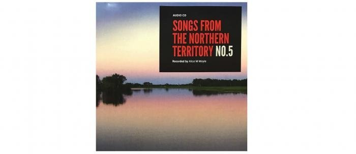 Songs from the Northern Territory CD5 cover